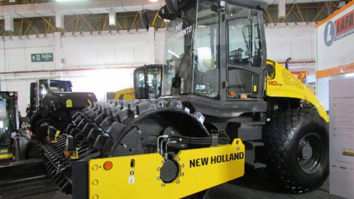 New Holland entra no mercado latino-americano de compactação