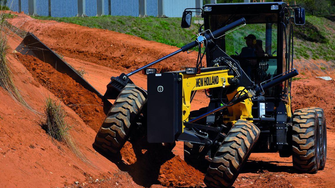 New Holland RG170.B tecnologia sem limites