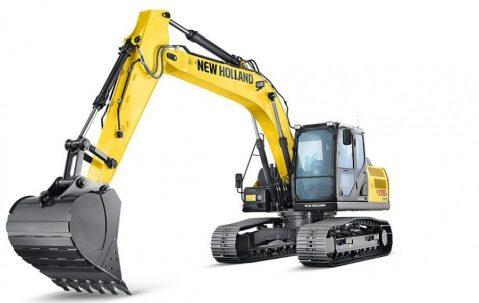 Tipos de escavadeiras: escavadeira hidráulica