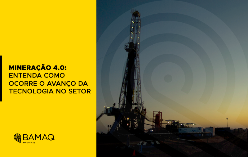 Mineração 4.0: entenda como ocorre o avanço da tecnologia no setor